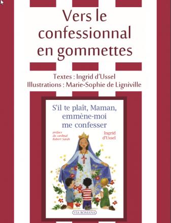confession , confessionnal et les petits enfants S'IL TE PLAÎT MAMAN EMMÈNE-MOI ME CONFESSER Couverture_gommettes_i_dussel